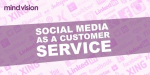 social media as a customer service