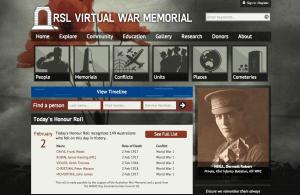 RSL Website Screenshot