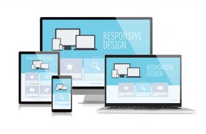 Responsive web design and development on multiple devices