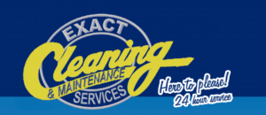 Custom Made Software Exact Cleaning Logo